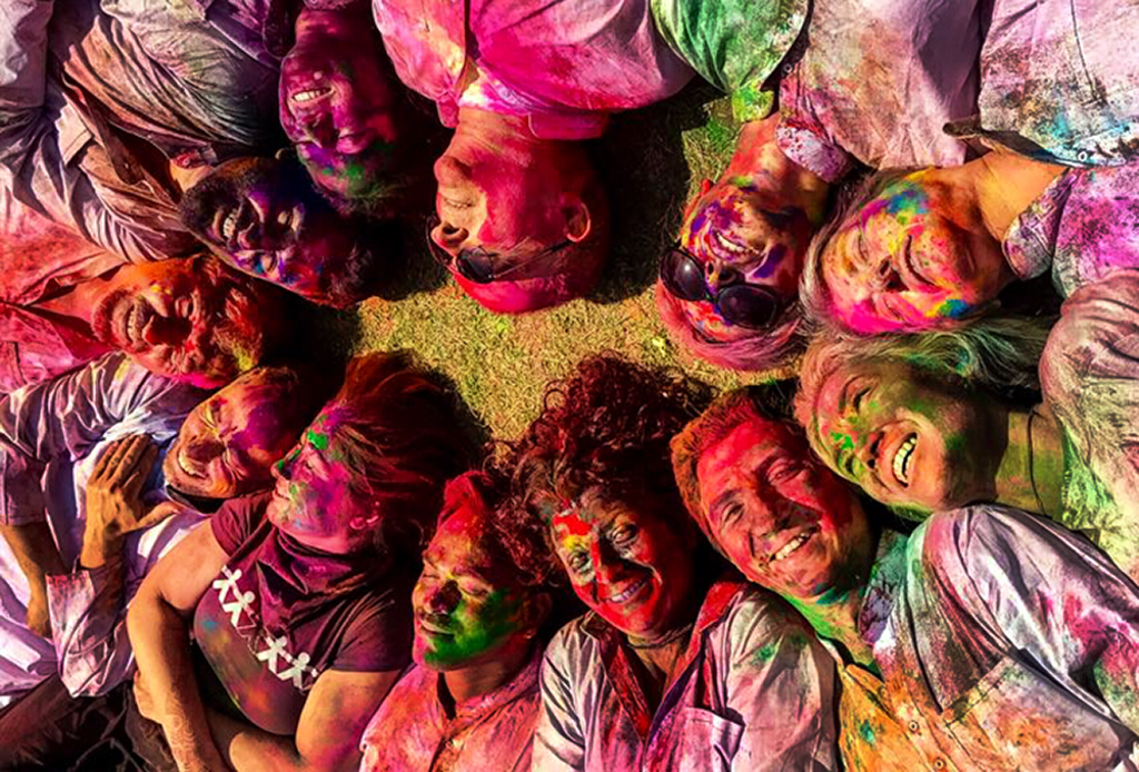 India - Nepal  tour. We will be in Holi.